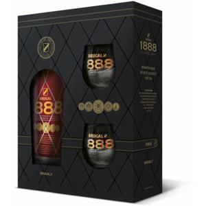 Brugal 1888 Gran Reserva 0,7l 40% + 2x sklo GB