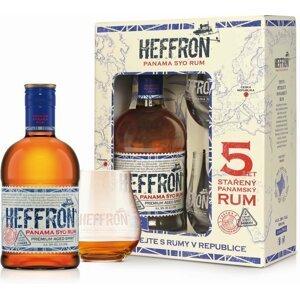 Heffron Panama Rum 5y 0,5l 38% + 2x sklo GB