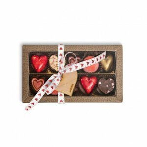Valentýnská Krabička s Pralinkami a Lanýži 105g