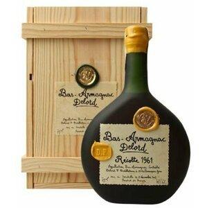 Armagnac Delord 1961 1961 0,7l 40% Dřevěný box