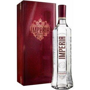 Russian Standard Imperia 1,75l 40% + 3x sklo Dřevěný box