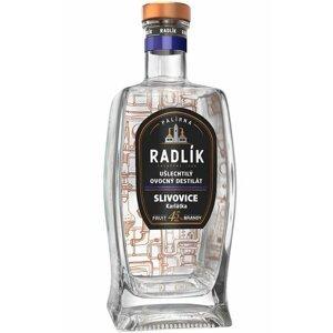 Radlík Slivovice Karlátka 0,5l 45%