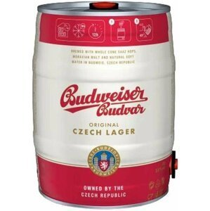 Budweiser Budvar Světlý Ležák Soudek 5l 5%