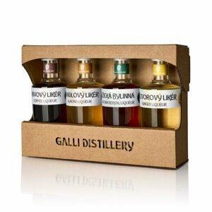 Galli Degustační Sada Likérů 4×0,05l