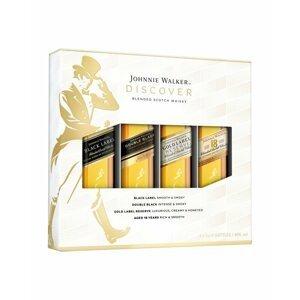 Johnnie Walker Mini Sada 4×0,05l 40%