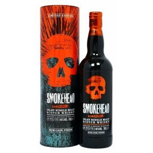 Smokehead Rum Rebel 0,7l 46% Tuba
