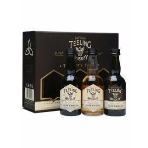Teeling Whiskey Trinity Pack 3×0,05l 46% GB