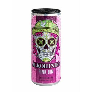 Alkohinho Pink Gin & Tonic Exklusivní Edice Jakub Kohák 0,25l 7,2%