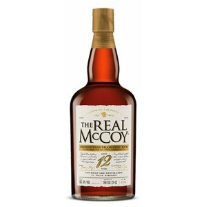 The Real McCoy Prohibition Tradition 100 Proof 12y 0,7l 50% L.E.