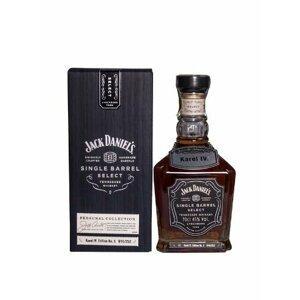Jack Daniel's Single Barrel Select Karel IV. Edition No.5 0,7l 45%