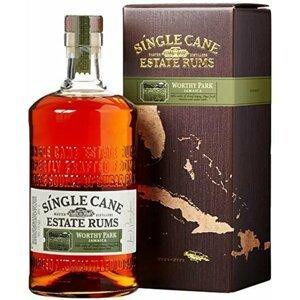Single Cane Estate Rums Worthy Park 1l 40% GB