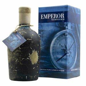 Emperor Deep Blue Edition Chateau Pape Clément finish 13y 0,7l 40% L.E. Sklo