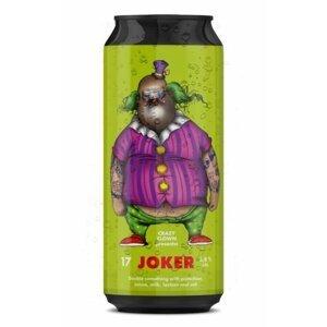 Crazy Clown Joker White Porter 17 17° 0,5l 6,8%