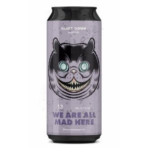 Crazy Clown We are all mad here Ale 13° 0,5l 5,1%