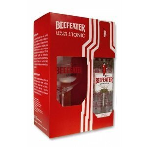 Beefeater Gin 0,7l 40% + 1x sklo GB