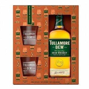 Tullamore Dew 0,7l 40% + 2x sklo GB