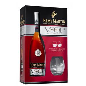 Rémy Martin VSOP 0,7l 40% + 2x sklo GB