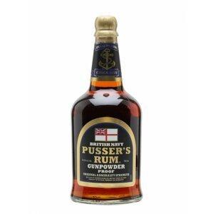 Pusser's British Navy Rum 0,7l 54,5%