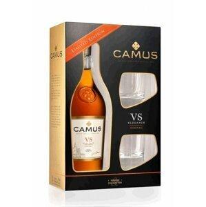 Camus Elegance VS 0,7l 40% + 2x sklo GB