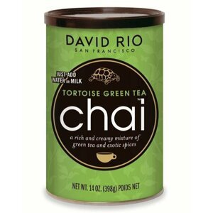 David Rio Tortoise Green Chai 398g