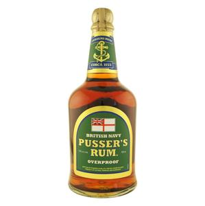Pusser's British Navy Rum Overproof 0,7l 75%