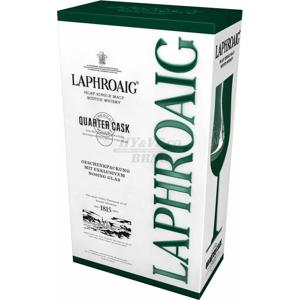Laphroaig Quarter Cask 0,7l 48% + 1x sklo GB