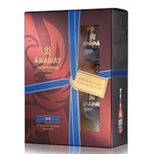 Brandy Ararat 20y 0,7l 40% + 2x sklo GB