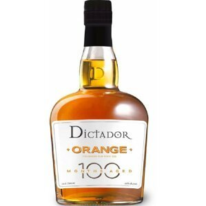 Dictador 100 Months Orange 0,7l 40%