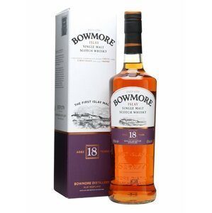 Bowmore 18y 0,7l 43%