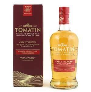 Tomatin Cask Strength 0,7l 57,5%