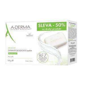 A-Derma Dermatologické mýdlo duopack 2x100 g