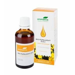 Aromatica BIO Pupalkový olej s beta-karotenem a vitaminem E 50 ml