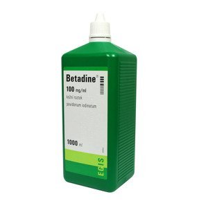 Betadine 100 mg/ml roztok 1000 ml