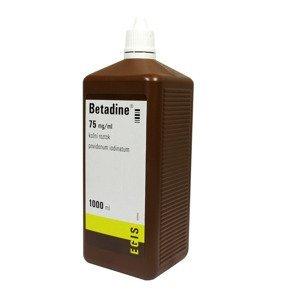 Betadine 75 mg/ml roztok 1000 ml