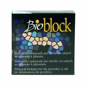 Bio Block Biologický přípravek pro nehty na rukách se sklonem k plísním