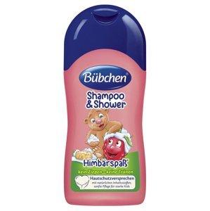 Bübchen Kids Šampon a sprchový gel MALINA 50 ml