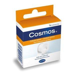 Cosmos Náplast cívková jemná 1,25 cm x 5 m 1 ks