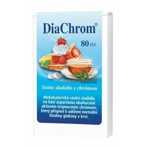 DiaChrom nízkokalorické sladidlo 80 tablet