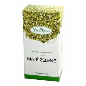 Dr. Popov Maté zelené sypaný čaj 100 g