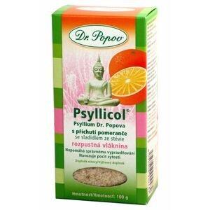 Dr. Popov Psyllicol s příchutí pomeranče 100 g