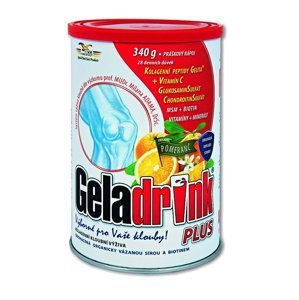 Geladrink Plus pomeranč nápoj 340 g