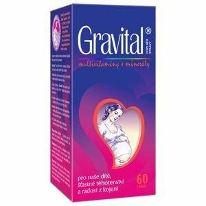 VitaHarmony Gravital pro těhotné a kojící ženy 60 tablet