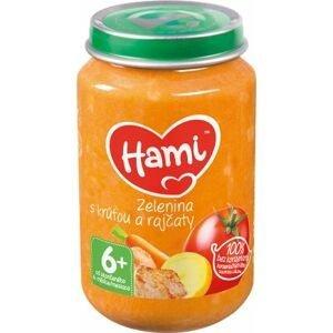 Hami Zelenina s krůtou a rajčaty 6+ masozeleninový příkrm 200 g