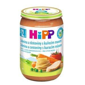 Hipp DĚTSKÉ MENU BIO Zelenina a těstoviny s kuřecím masem 220 g