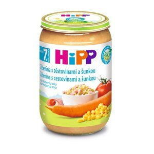 Hipp JUNIOR MENU BIO Zelenina s těstovinami a šunkou 220 g