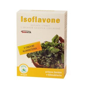 Vegall Pharma Isoflavone 30 kapslí