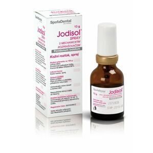 Jodisol Sprej s mechanickým rozprašovačem 13 g