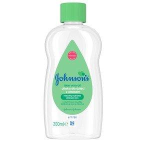 Johnson's Baby Dětský olej s aloe vera 200 ml