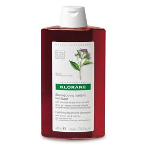 KLORANE Šampon s chininem a vitaminy B proti vypadávání vlasů 400 ml