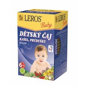 Leros Dětský čaj Kašel a průdušky 20x1,5 g